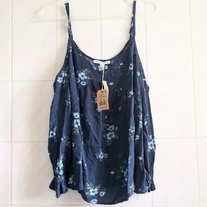NWT American Eagle Floral Off the Shoulder Top